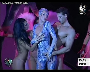Celina Rucci threesome hot dance